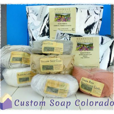 Soap gallery clays and charcoal custom soap colorado