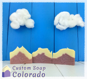 Soap Gallery of Custom Soap Colorado and the soap made for Red Craggs Inn