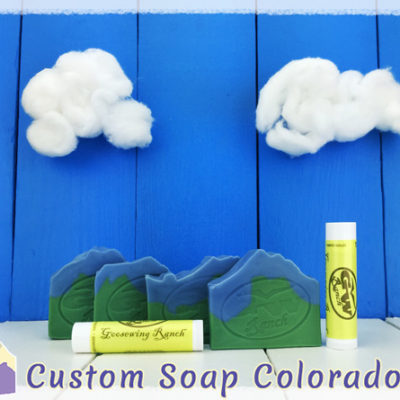 The Soap Gallery images of Custom Amenity Soap and Cusotm Lip Balm provided by Custom Soap Colorado
