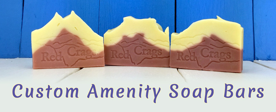 Amenity Soap bar made by Custom Soap Colorado