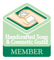 Custom Soap Colorado is a proud member of the Handcrafted Soap & Cosmetic Guild